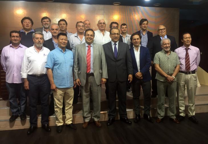 El Alcalde de Leganés se reune con los Empresarios  para analizar la situación del Municipio