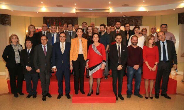 La ministra Reyes Maroto presidió la VIII edición de los Premios Ciudad de Leganés