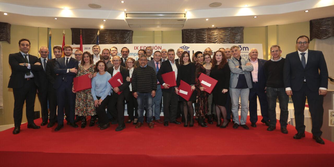 En el X aniversario de unele, la IX Edición de los premios empresariales Ciudad de Leganés