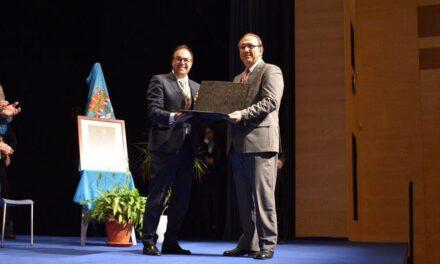 UNELE-CEIM Recibe la Medalla de Oro Villa de Leganés 2017